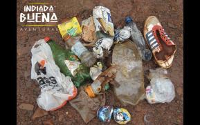 Coleta de Lixo - Trilha da Serra do Fundo Grande.