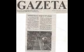 Publicação Jornal Gazeta