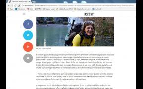 Publicação Revista Donna Zero Hora