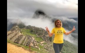 Indiada em Macchu Picchu