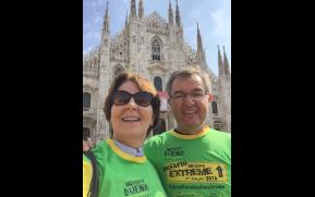 Indiada em Milão na Itália