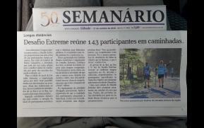 Desafio Extreme 2018 no Semanário